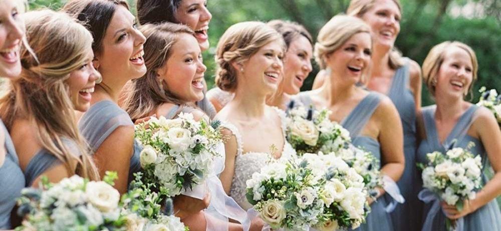 Свадьба в цвете ниагара
